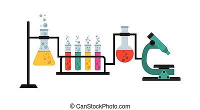 Wissenschaftliches Labor.