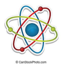 Wissenschafts-Ikone des Atoms deaktivieren