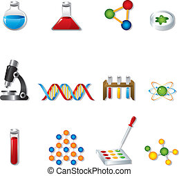 Wissenschaftsnetz-Ikonen
