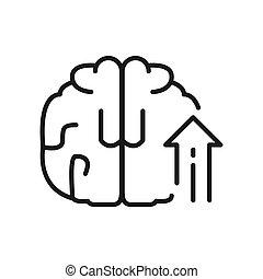 Wissenswachstum Illustration Design.