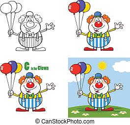 Witziger Clown 3. Sammlung