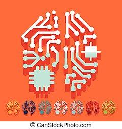wohnung, design:, künstliche intelligenz