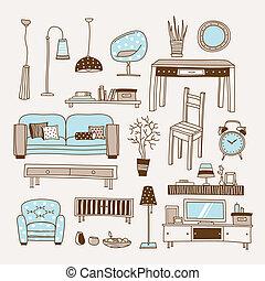 Wohnzimmervektor