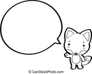 wolf, karikatur