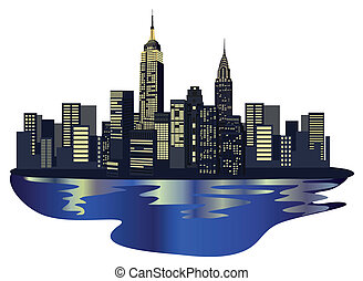 Wolkenkratzer aus New York