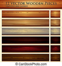 Wooden-Stammlose Hintergrund-Illustration