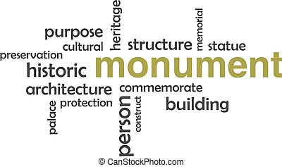 Word Cloud - Monument.