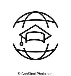 World Education Illustration Design.