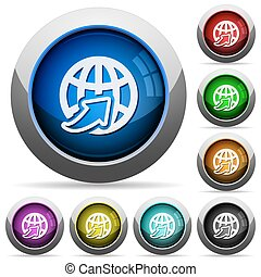 Worldwide Support Button Set