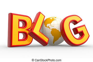 "Wort ""Blog"""