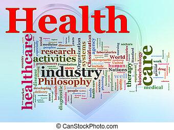 Wortlaut der Gesundheitsversorgung.