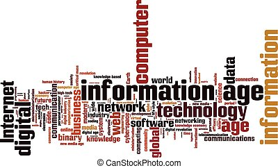 Wortwolke im Informationszeitalter