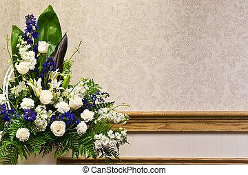 Wunderschöne Blumenvereinbarung