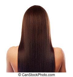 Wunderschöne lange Haare