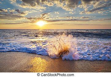 Wunderschöne Meereslandschaft
