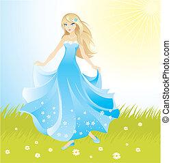Wunderschöne Prinzessin