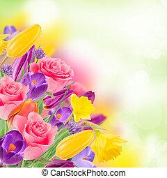 Wunderschöner Blumenstrauß.