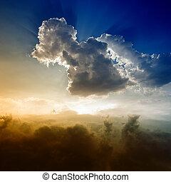 Wunderschöner Himmel.