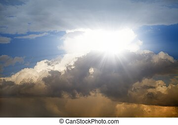 Wunderschöner Himmel