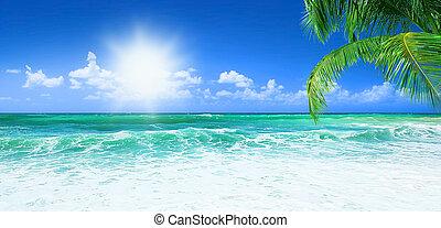 Wunderschöner Strand.
