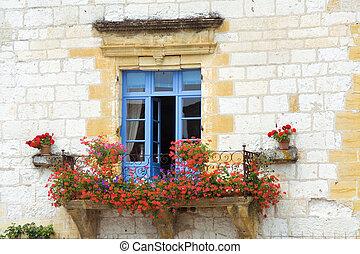 Wunderschönes mediterranes Fenster