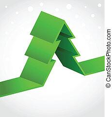 Xmas Hintergrund mit Pixel-Weihnachtsbaum