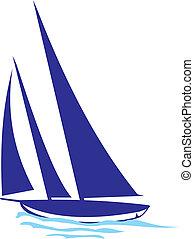 Yachtsilhouette