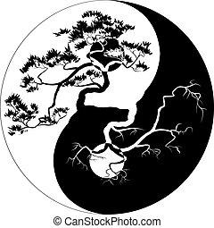 Yin Yang Bonsai.