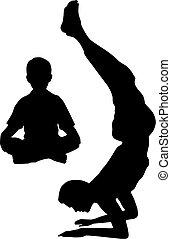 Yoga mit Dad
