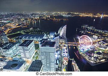 Yokohama Top Aussichtspunkt.