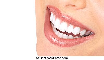 Zähne und Lächeln
