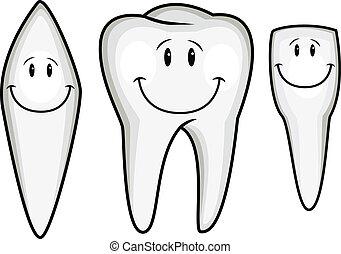 Zahn Cartoon-Sammlung