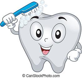 Zahnmaskottchen