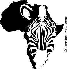 Zebra afrika Silhouette