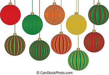 Zehn fabelhafte Weihnachtsschmucke