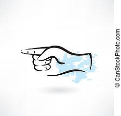 Zeigt das Fingergrunge Icon.