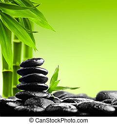 Zen-Steine.