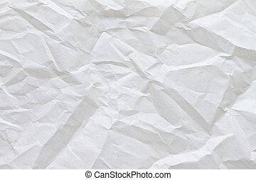Zerknittertes Pergamentpapier