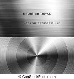 Zerquetschtes Metall