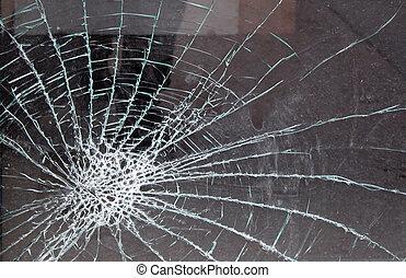 Zertrümmertes Glas