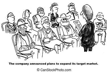 Zielgruppe Expansion.