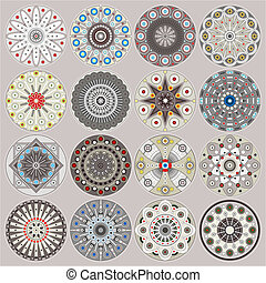 Zierdekreise dekorieren