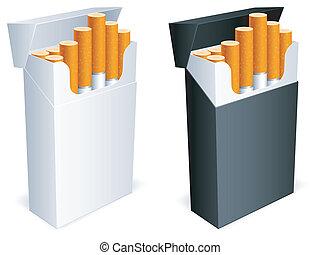 Zigarettenpack.