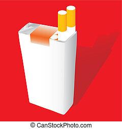 Zigarettenpack V