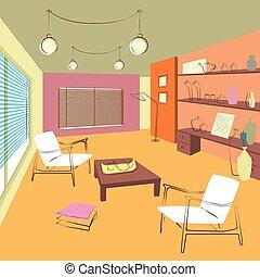 Zimmer für Gäste.