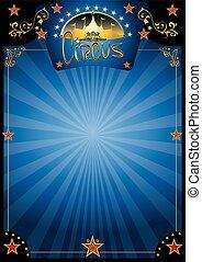 Zirkus-Blue-Nacht-Poster.