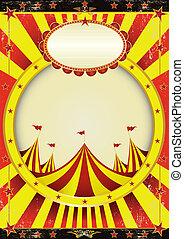 Zirkus-Entertainment-Poster.