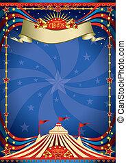 Zirkus-Nacht-Poster