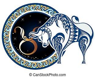 Zodiac-Schilder - Taurus.