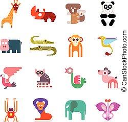 Zootier-Ikonen